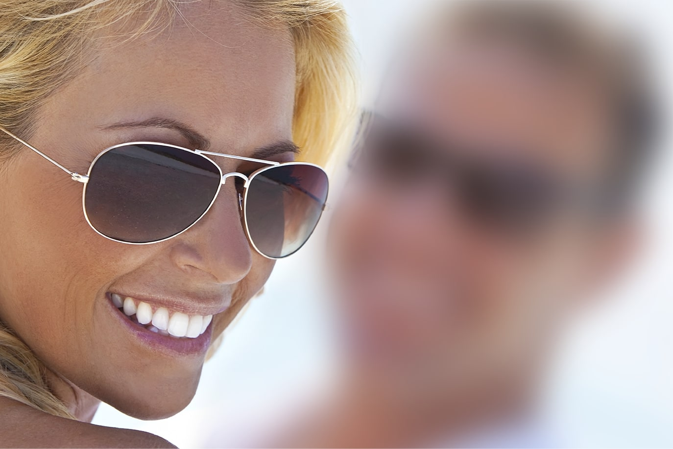 KODAK Polarized Lenses help prevent sun exposure around the eyes